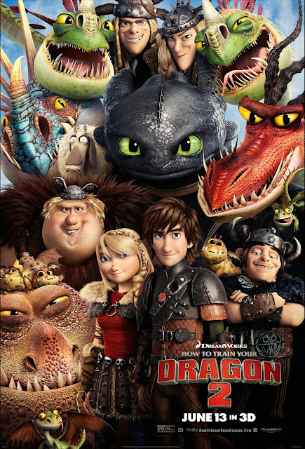 How to train your dragon 2 (2014) Μεταγλωτισμένο tainies online oipeirates