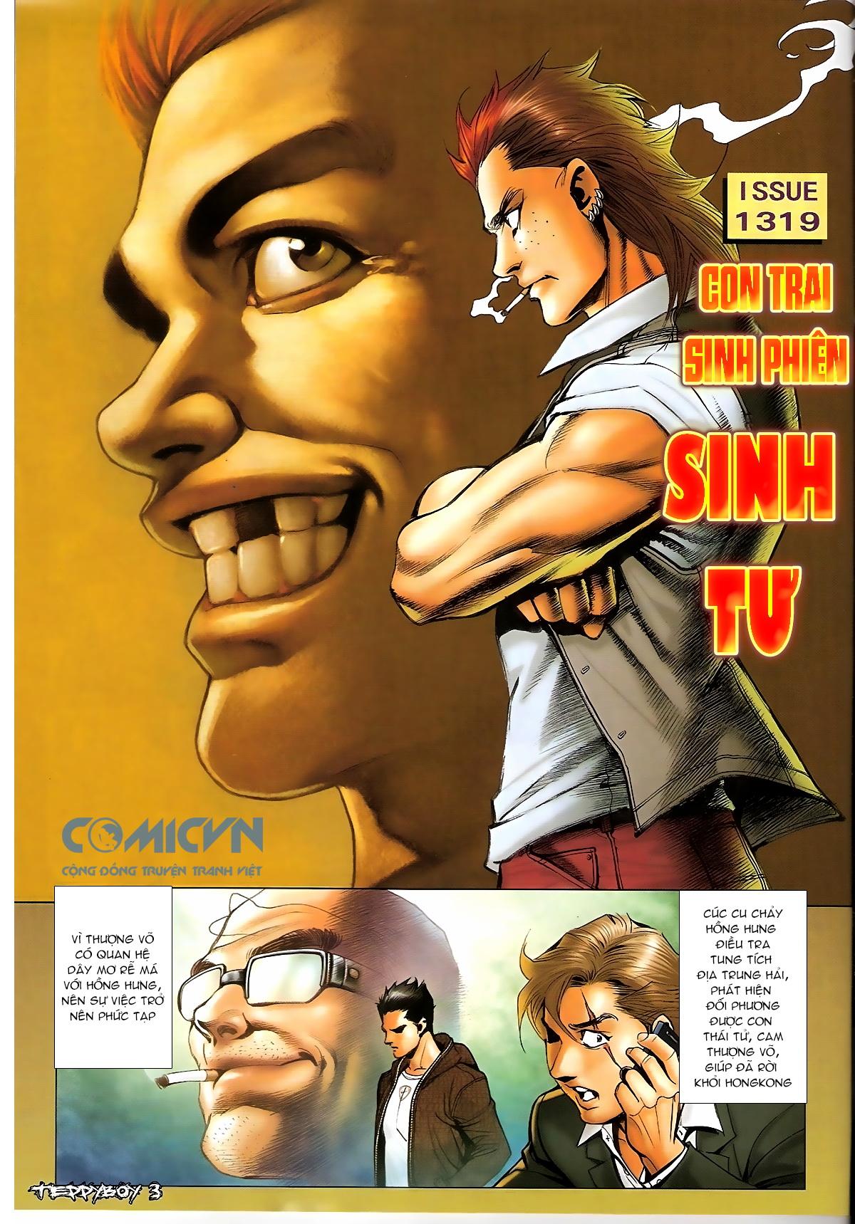 Người Trong Giang Hồ - Chapter 1319: Con trai Sinh Phiên - Pic 2
