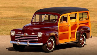 1946 Ford Super Deluxe Station Wagon Front