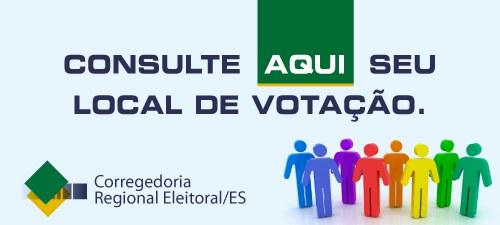 ►local de votação/consulta por nome / ES - 2016 -