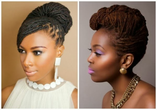 NATURAL HAIRSTYLES FOR AFRICAN BRIDES!!!