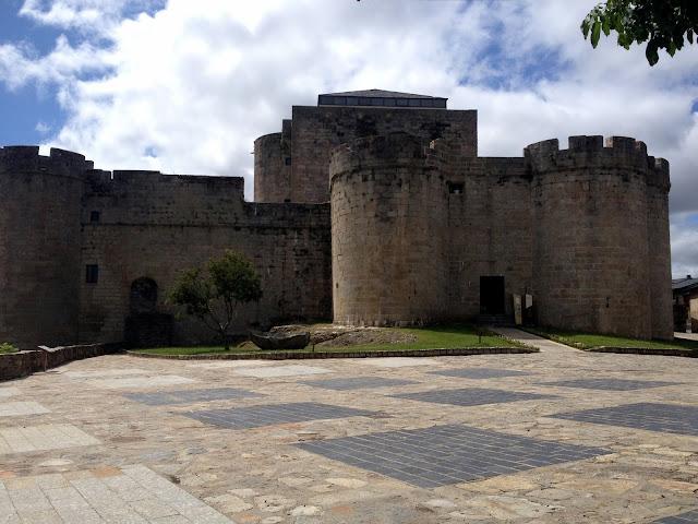 el castillo de puebla de sanabria