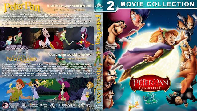 Peter Pan Collection Bluray Cover