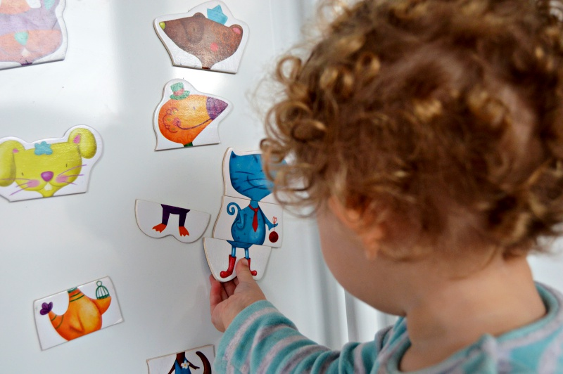 puzzle ninos 2 anos eurekakids magnético