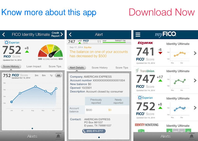 Download myFICO Mobile for iPhone