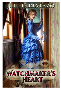 Watchmaker's Heart by Juli D. Revezzo, steampunk, Victorian Romance, borrow free with Kindle Select!