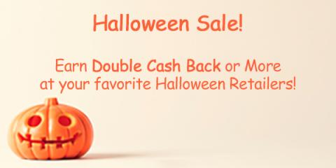 Image: Halloween is almost here, and Swagbucks has increased cash back at a big group of their Halloween-related stores, so you can earn cash back