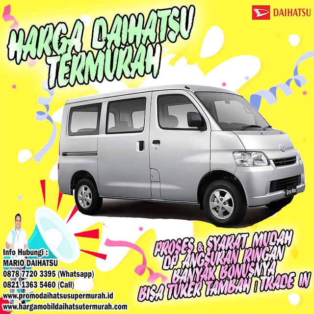 harga daihatsu gran max minibus