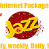 jazz all internet packages daily,weekly,monthly 2019
