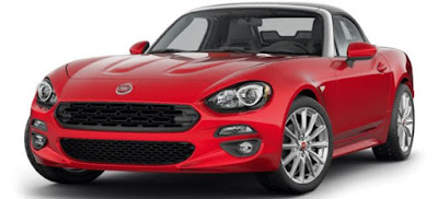 FIAT 124 Spider convertible car
