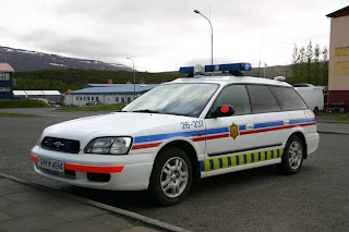Speed tickets in Iceland