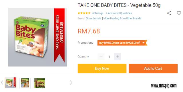 Take One Baby Bites
