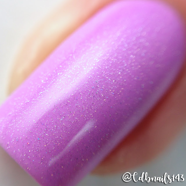 Bliss Polish-Thistle Be Fun with Holo Bliss Topper