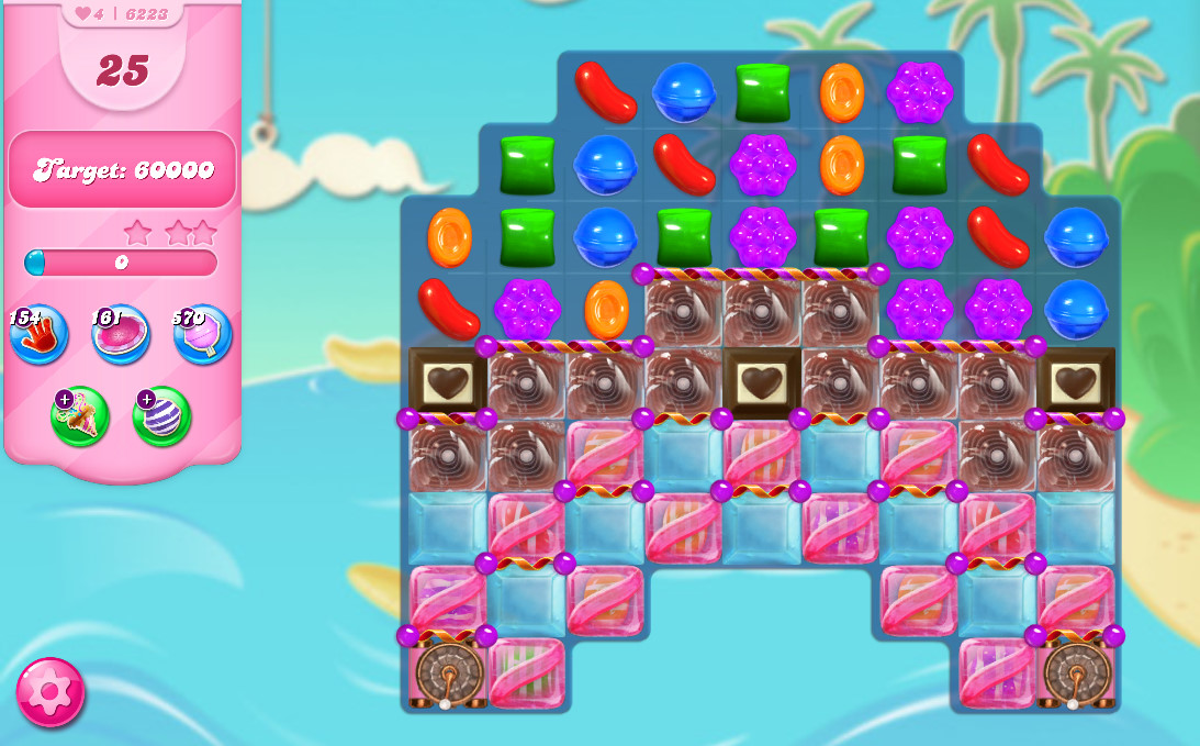 Candy Crush Saga level 6223