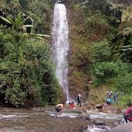 Curug Siraki Desa Wonomerto Kecamatan Bandar
