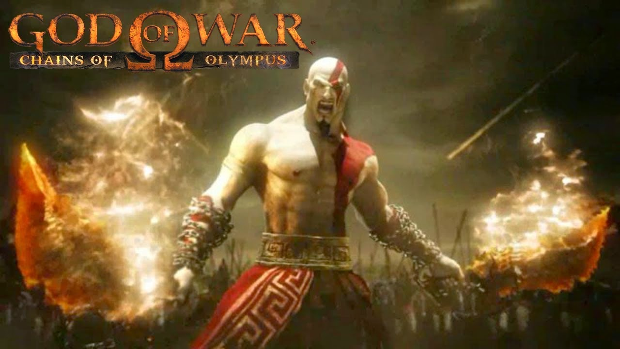 GOD OF WAR: CHAIN OF OLYMPUS [FULL] PSP ISO APK FOR [PSP+PPSSPP]
