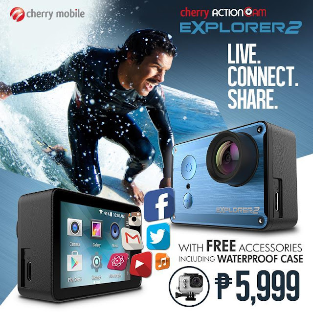 Cherry Mobile Explorer 2 Action Cam Now Available, Sells for PHP 5,999