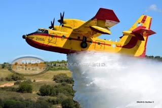 Πολύ υψηλός κίνδυνος πυρκαγιάς για αύριο στη Χαλκιδική
