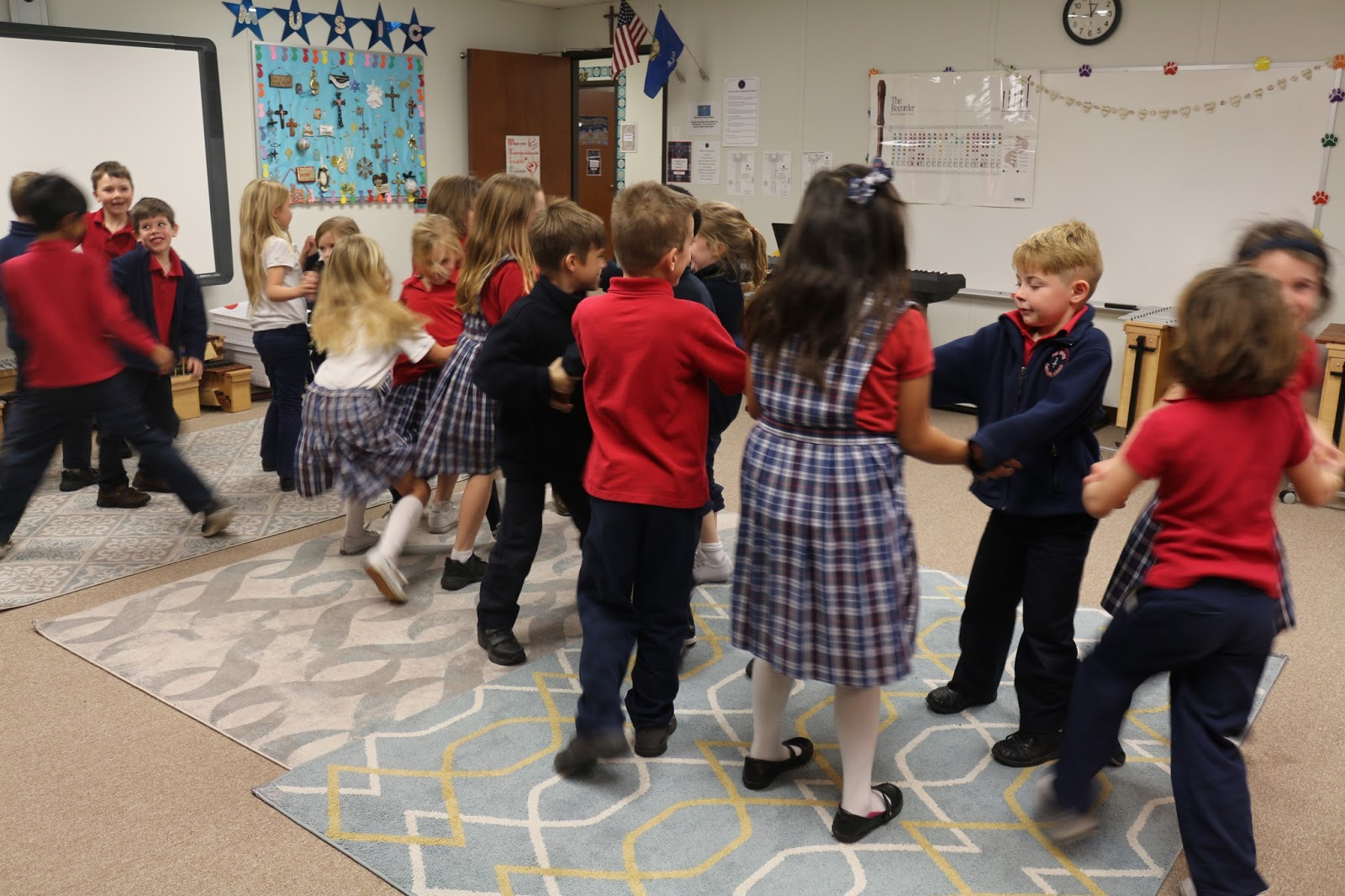 Dances for children: choose the appropriate direction