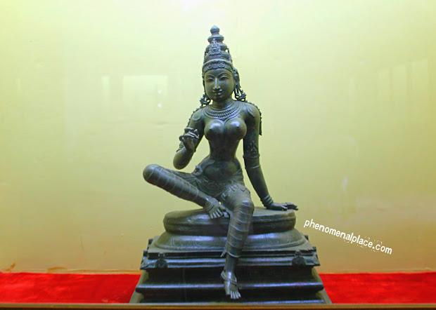 Bronze Sculptures Of Thanjavur Art Places