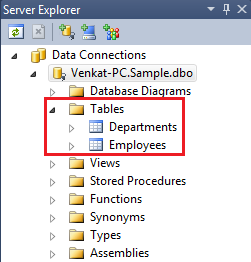 Modeling Databases Using LINQ to SQL