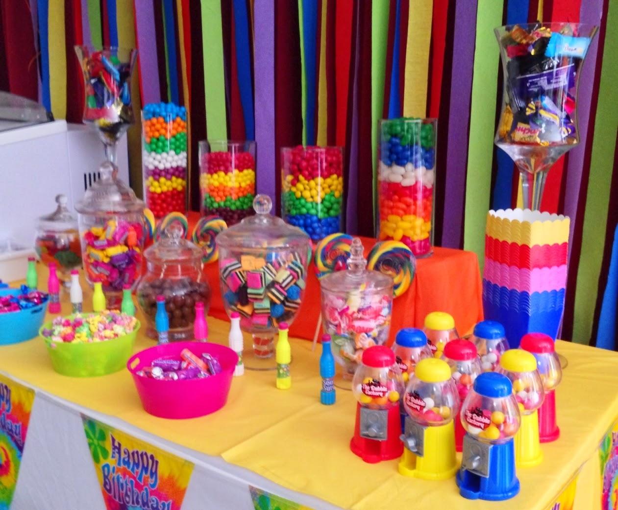 Sparkles Candy Buffet