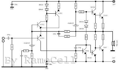 RameCell: 150Watt OCL Power Amplifier