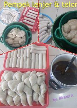 Cara Membuat Empek Empek Isi Telur : membuat, empek, telur, Resep, Pempek, Lenjer, Telur, Pedas