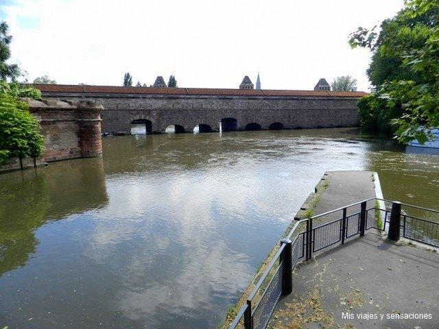 Barrage Vauban, Estrasburgo, Alsacia, Francia