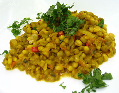 Indian style spicy mung beans moong dal lisas kitchen indian style spicy mung beans moong dal forumfinder