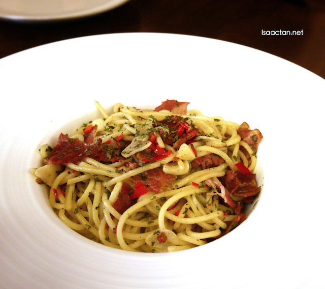 Aglio Olio With Beef Bacon (RM19.40)