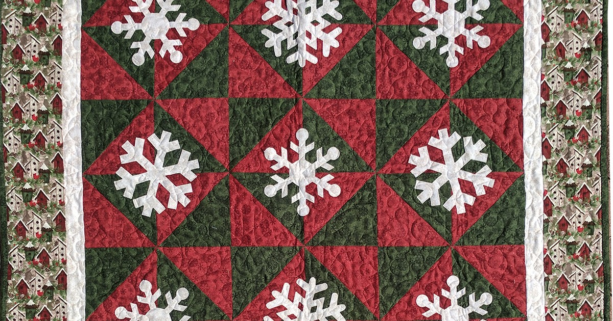 The Whimsical Workshop Studio Snowfall Free Pattern
