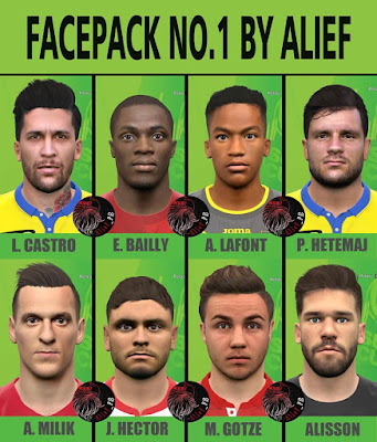 Facepack No.1 By Alief