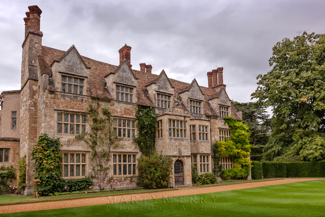 The impressive house at Anglesey Abbey, Cambridgeshire