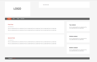 HTML 5 and CSS 3 Responsive theme