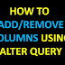 Learn SQL:Use Of Alter Statement/Command, With Example and Important Interview Questions.