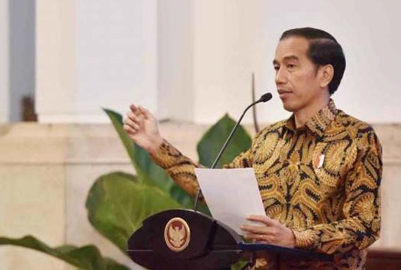 Presiden Joko Widodo Luncurkan Program Pendidikan Vokasi Industri di Bekasi