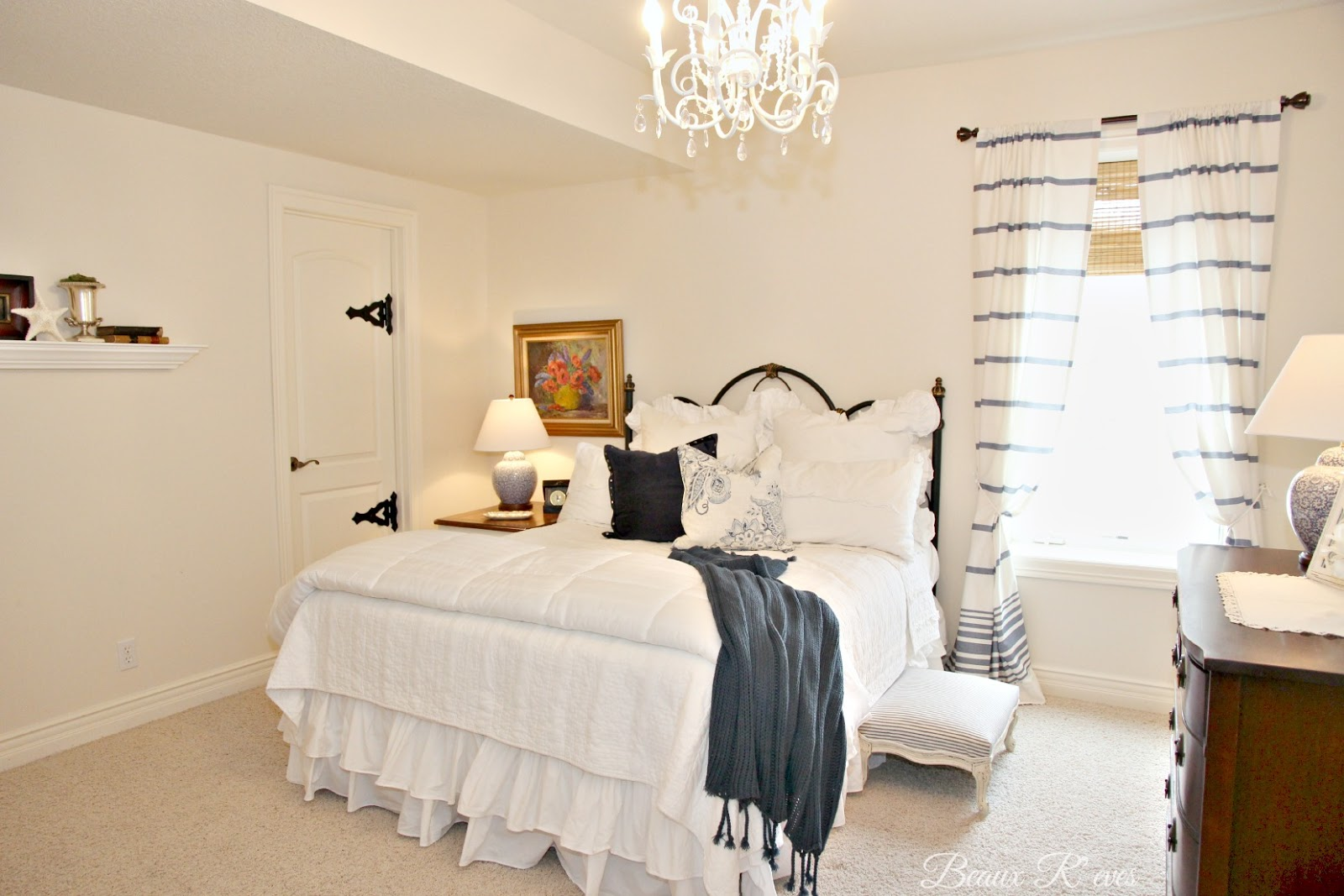 Guest Bedroom- Beaux Reeves-Treasure Hunt Thursday- From My Front Porch To Yours
