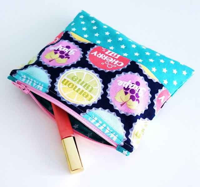 sew a zip pouch