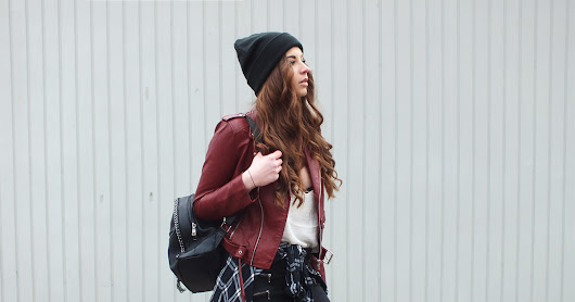 LEATHER JACKET*, BEANIE & STUDDED BOOTS* | WANDERLUST