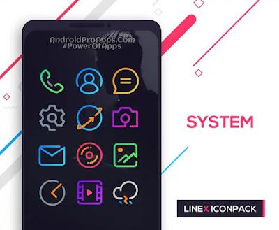 تحميل حزمة الايقونات الرائعه نيونى LineX Icon Pack v1.1 كامل مدفوع بدون اعلانات 2