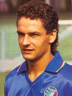 Baggio at the 1990 World Cup finals in Italy, where he announced himself as a star