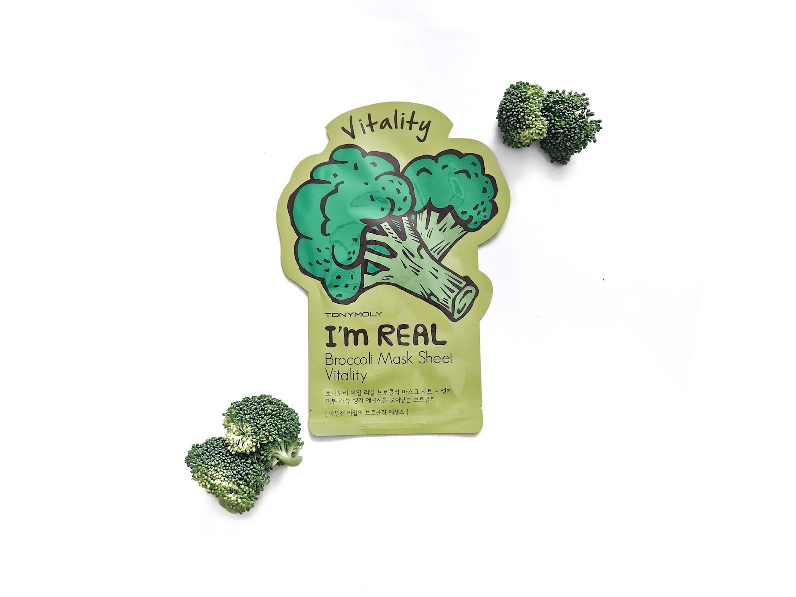 Tony Moly It's Real Broccoli Vitality Sheet Mask reviewed by The Jen Project