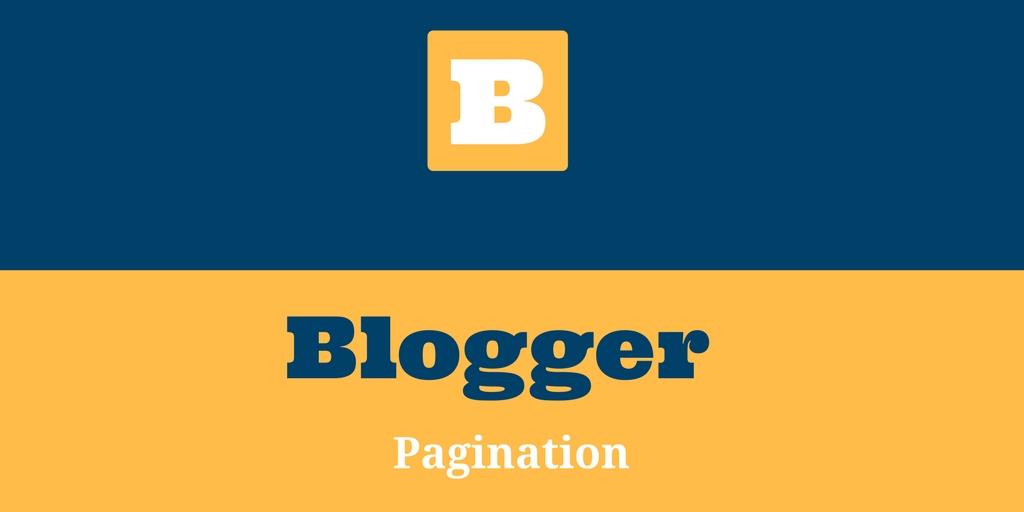 اضافة عداد ترقيم الصفحات لمدونات بلوجر