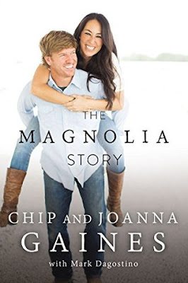 The Magnolia Story by Chip and Joanna Gaines gets 5 stars.  Inspiring, funny, hopeful, and all around positive uplifting read.  The audiobook is awesome b/c Chip and Joanna of Fixer Upper read it.  Loved all of it! 5 out of 5 Stars in my book review.  Nothing to complain about.  Alohamora Open a Book Alohamoraopenabook www.alohamoraopenabook.blogspot.com