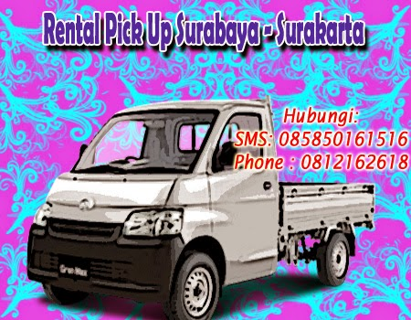 Rental Pick Up Granmax Surabaya - Surakarta