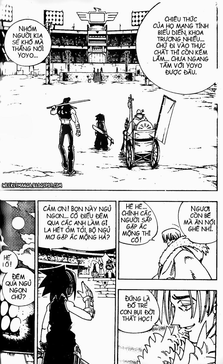 Shaman King [Vua pháp thuật] chap 128 trang 9