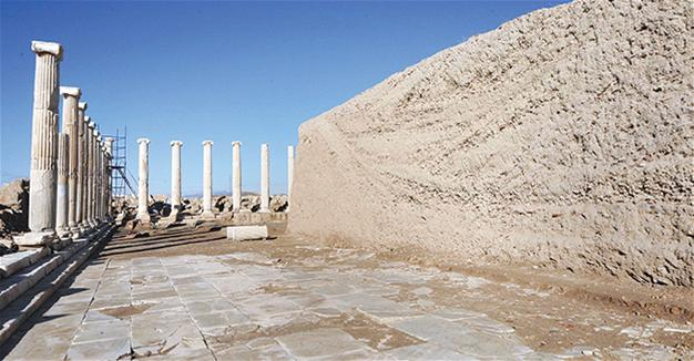Sacred agora unearthed in Laodicea
