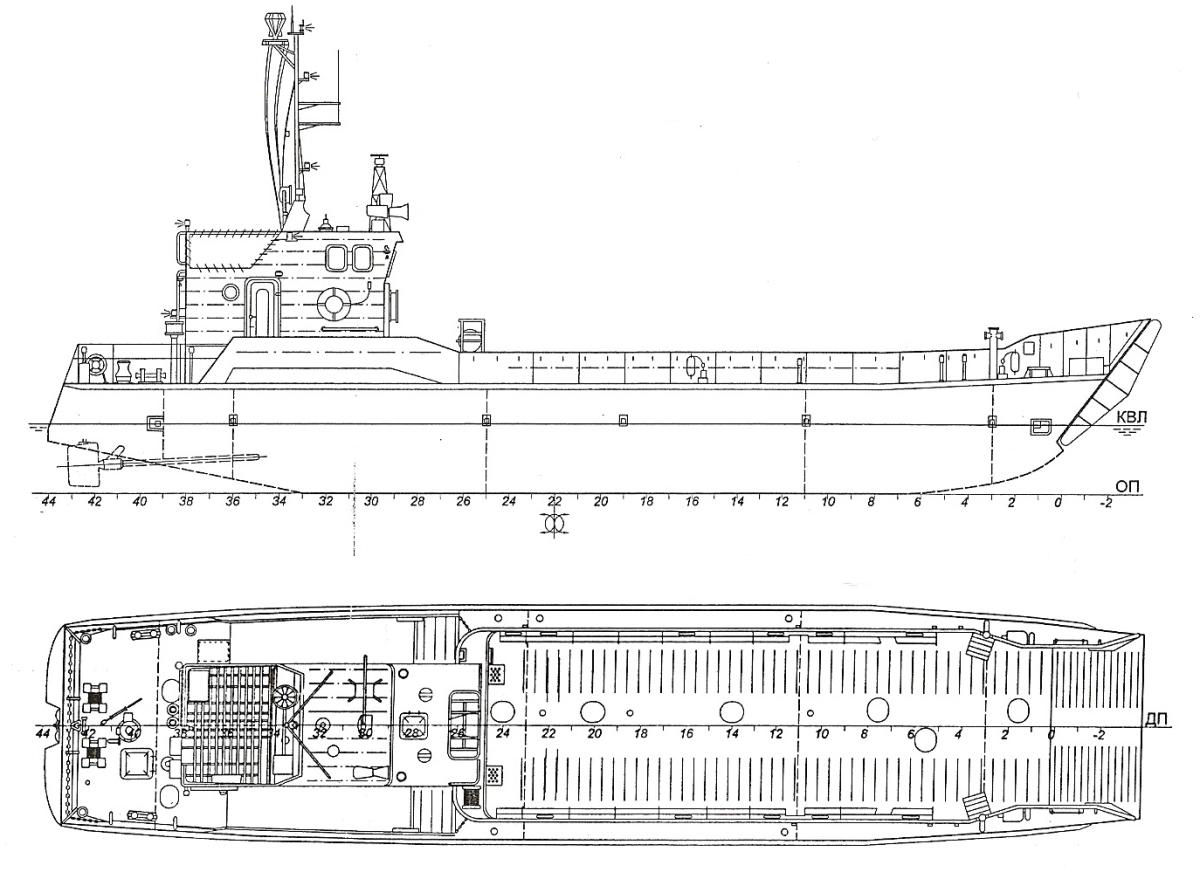 Десантний катер пр.1176