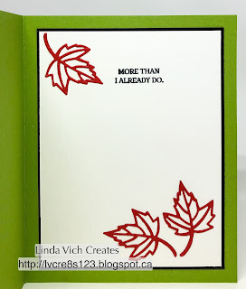 Linda Vich Creates: Part Two: Edge Stamping With Blended Seasons. Jennifer McGuire's Edge Stamping Technique is used with another card that uses the Blended Seasons Bundle in a dynamic way.